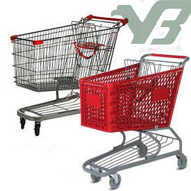 plastic shopping carts VS metal wire carts.jpg