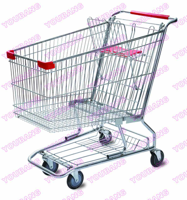 Supermarket Shopping Trolley with 5 inch Castor